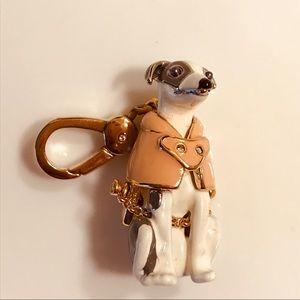 Juicy Couture Greyhound Dog Charm NWOT